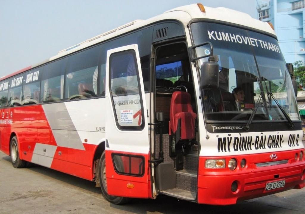 Hang xe Kumho Viet Thanh Ha Noi Ha Long
